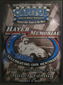 Roy Hayer Memorial Speedway Early History