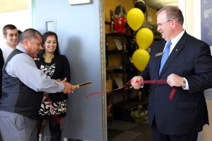Rio Linda High School celebrates grand re-opening of student-operated SAFE Credit Union