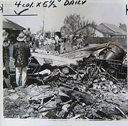 April 10, 1958 – USAF Plane Crash in Rio Linda