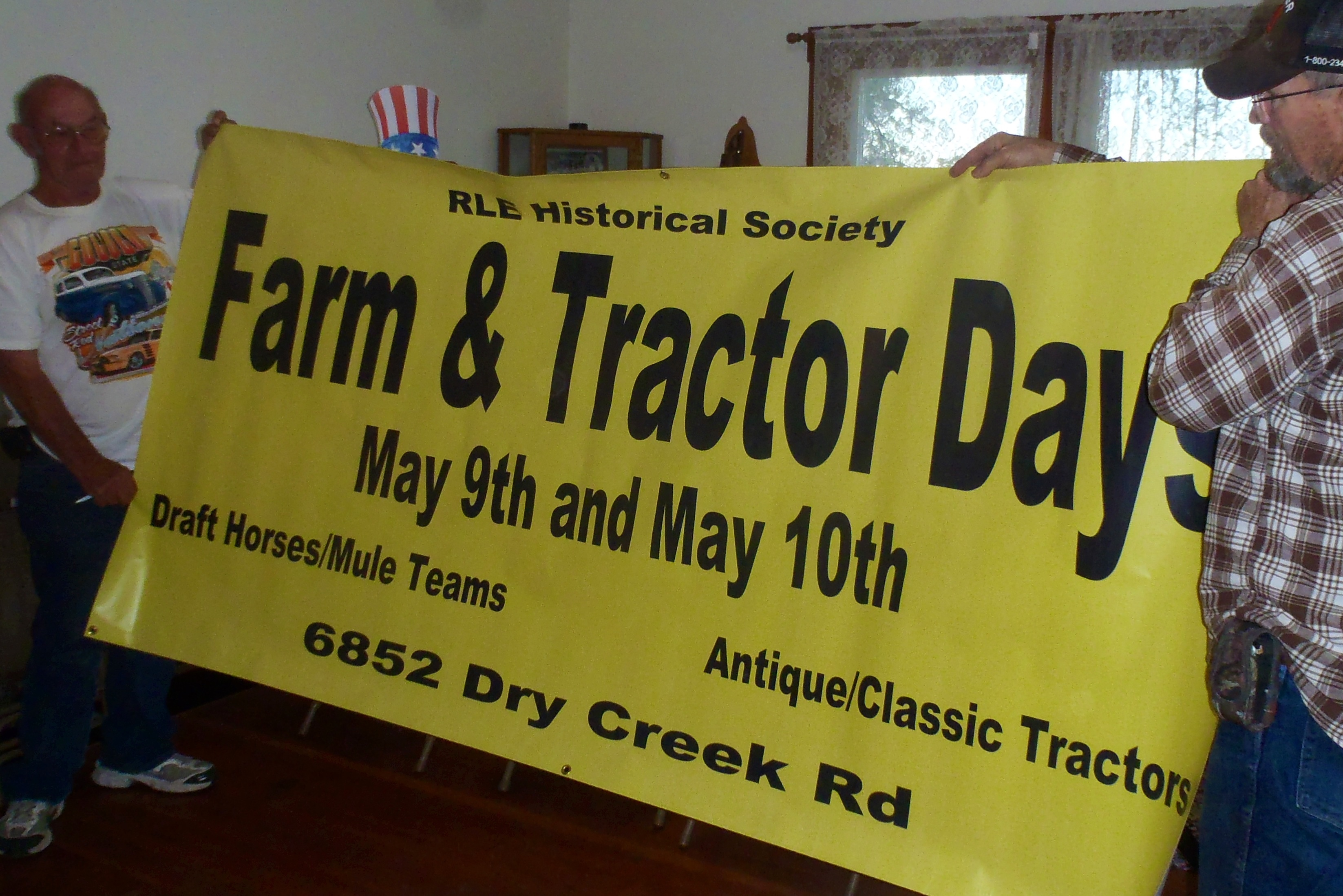 Farm and Tractor Days – May 9-10