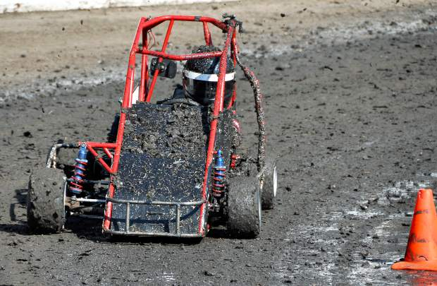 Tearing up the Track