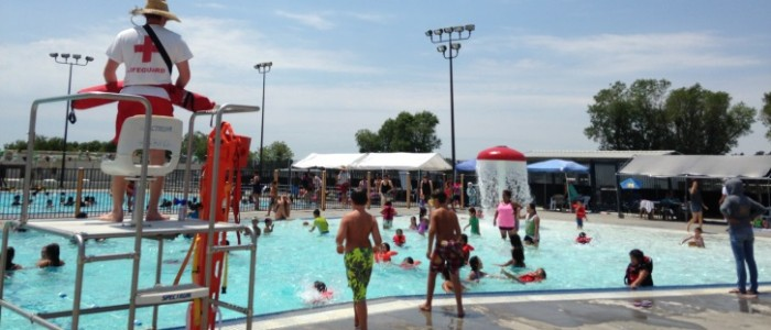 Swimming in the Summertime- The Pool is Open!