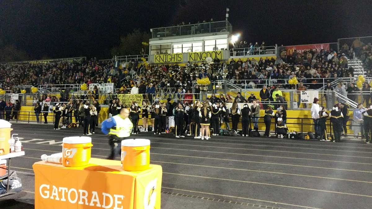 CDPH says One Parent Allowed at High School Football Games