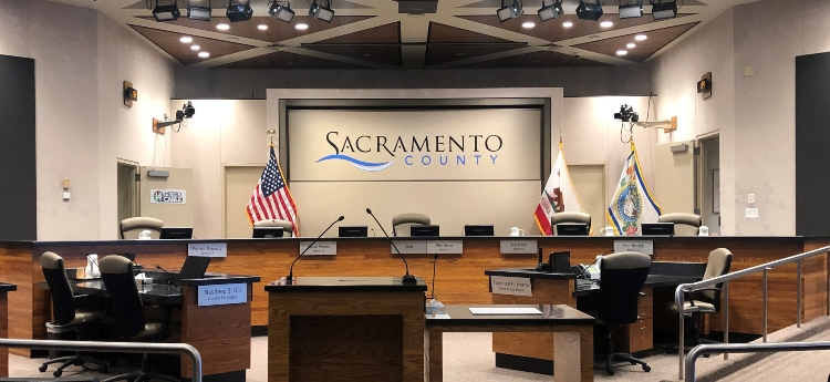 Sacramento County Board of Supervisors Chambers Re-Open to the Public