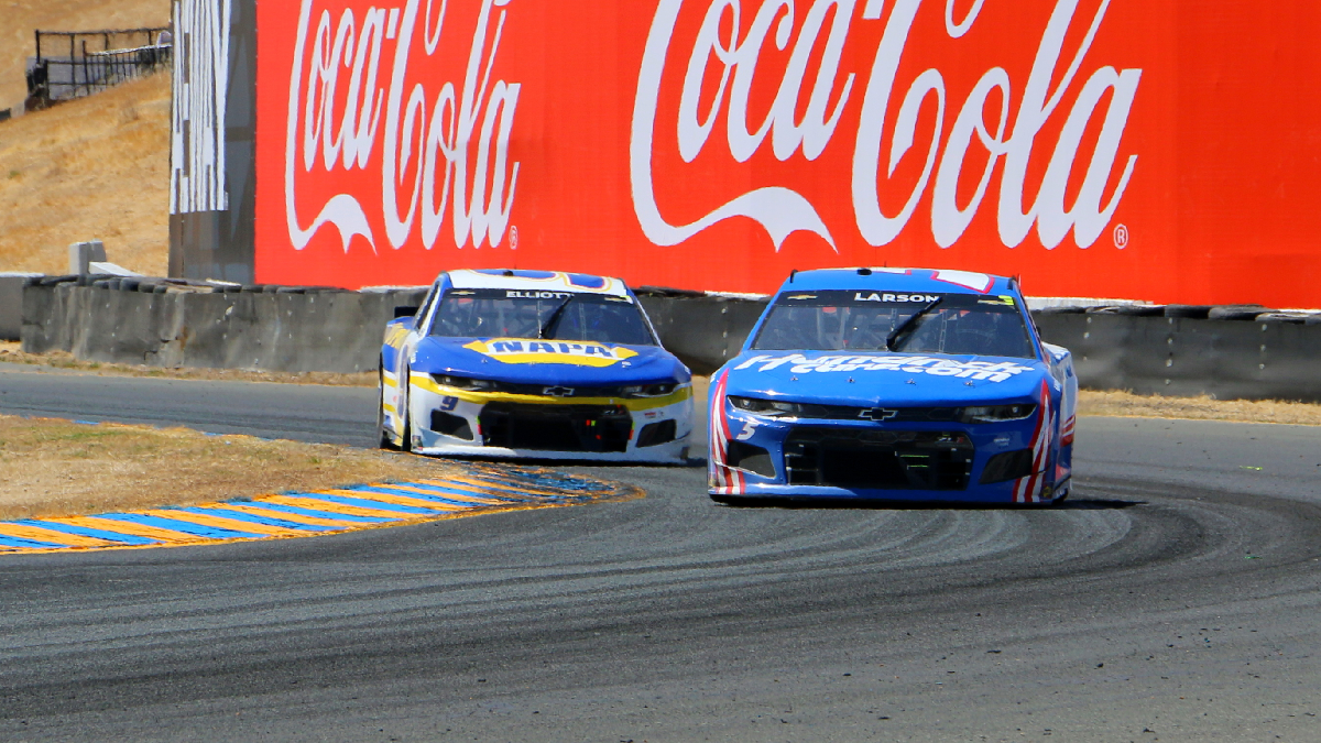 Elk Grove's Kyle Larson Dominates the Field in NASCAR Toyota/Save Mart 350 at Sonoma Raceway